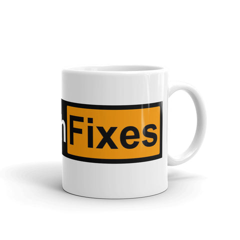 Bitcoin Fixes Mug