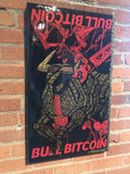 "MVDEX + CryptoPop Original ""Bull Bitcoin"" 1/1 2020"