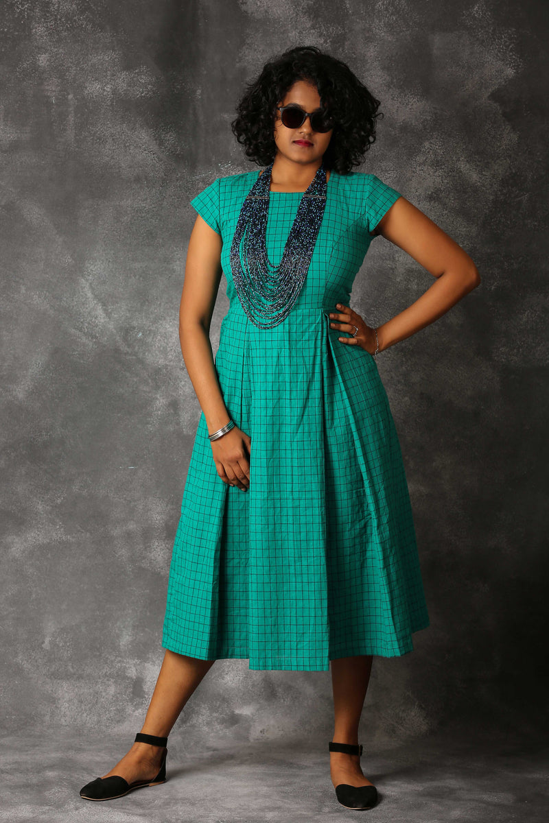 Teal Green Shift Dress