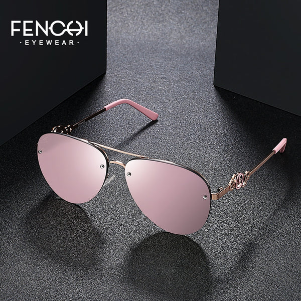 FENCHI Sunglasses Women Brand Design Glasses - Scarlett
