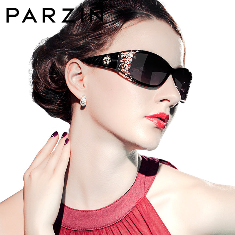 PARZIN Women's Luxury Polarized Sun Glasses - Ambrosia