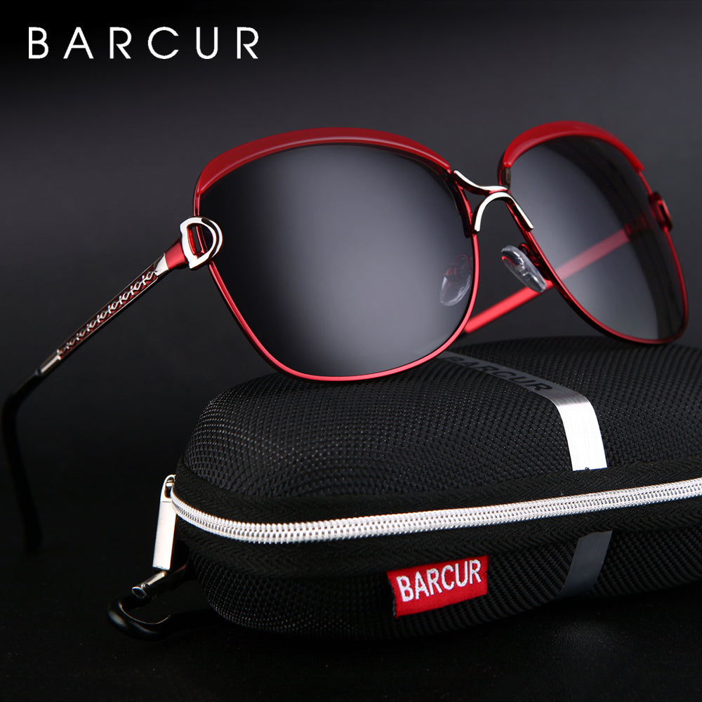 BARCUR Polarized Women's Sunglasses - Passion