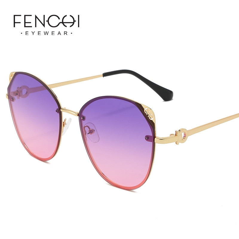 FENCHI Cat eye Sunglasses Women - Joliex