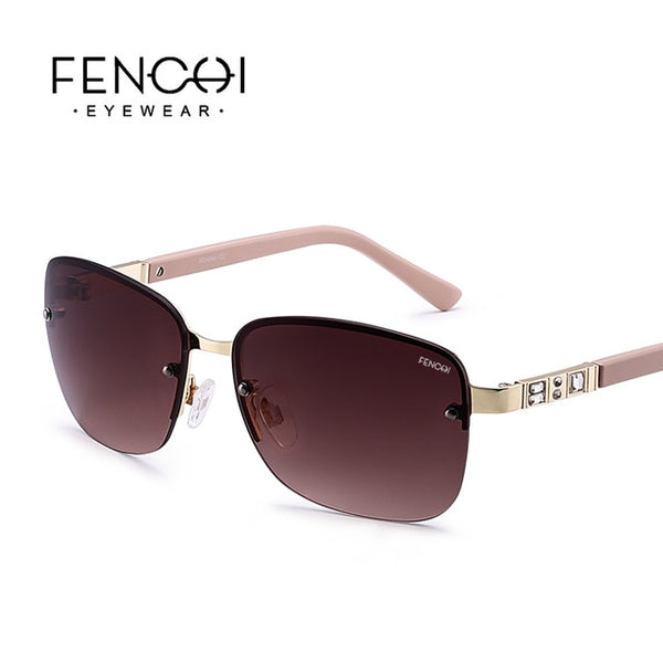 FENCHI Sunglasses Women - Gemstone Dark