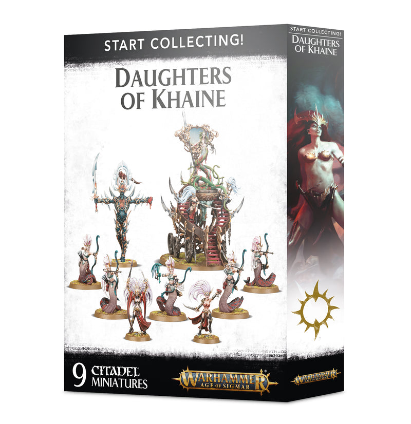 games workshop start collecting daughters of khaine