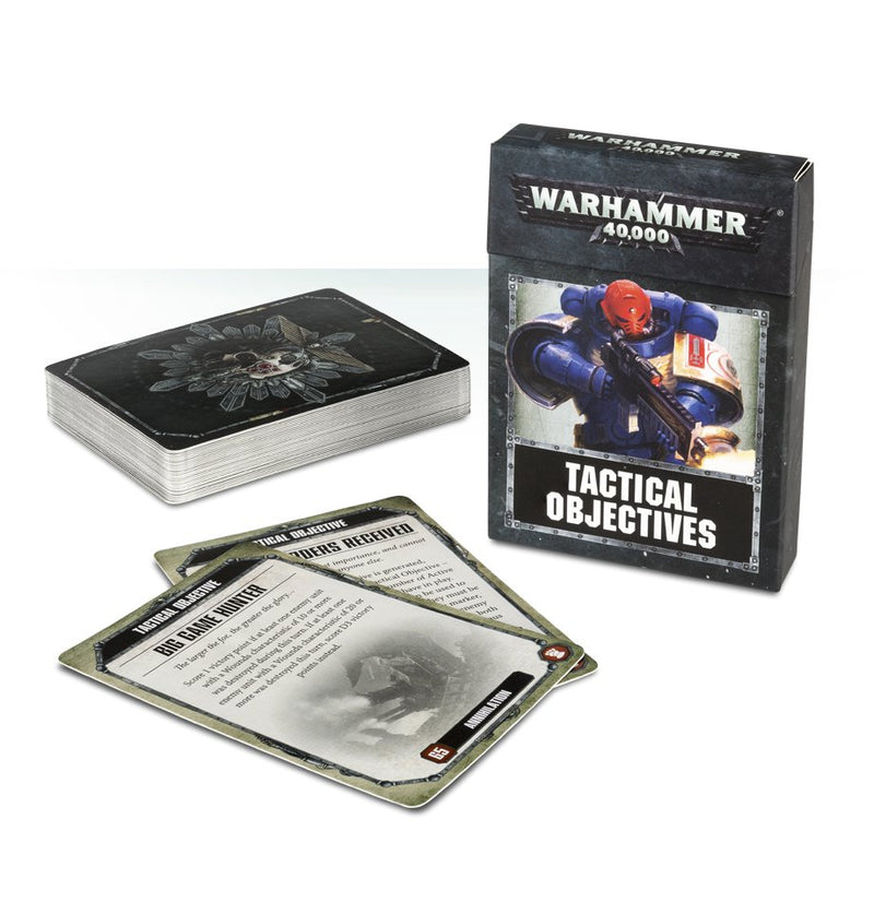 games workshop wh40k tactical objective cards