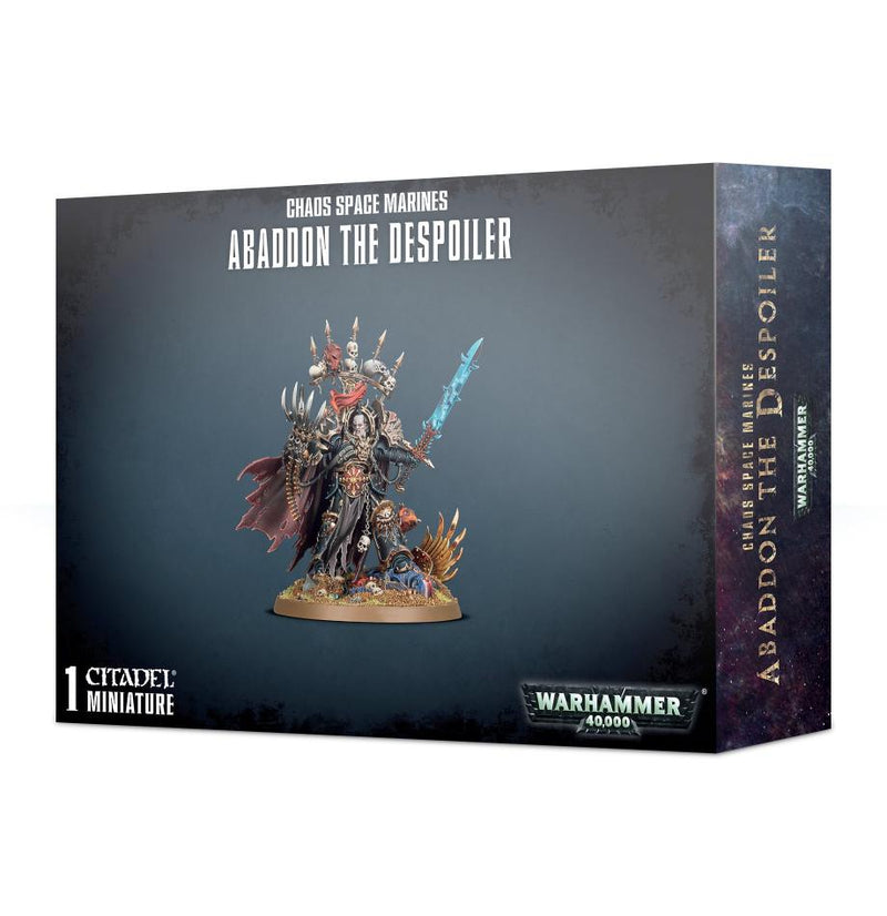 games workshop chaos smarines abaddon the despoiler