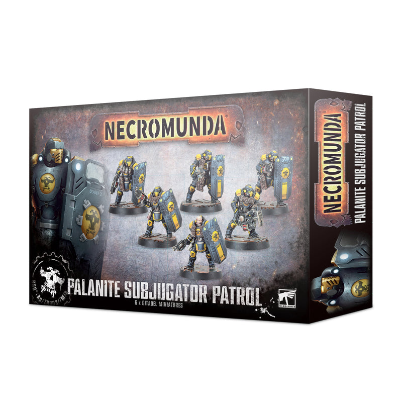 games workshop necromunda palanite subjugator patrol