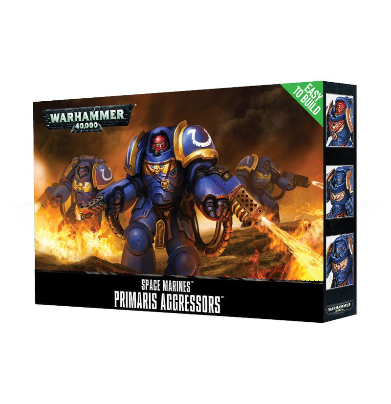 games workshop easy to build sm primaris aggressors