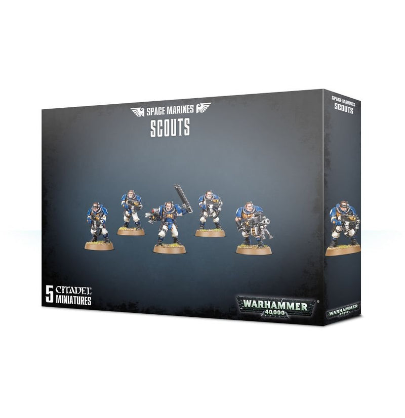 games workshop space marines scouts