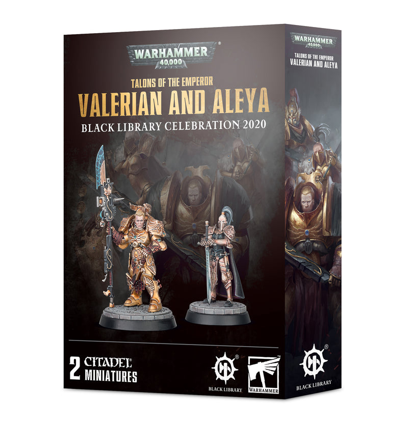 games workshop talons of the emperor valerian and aleya