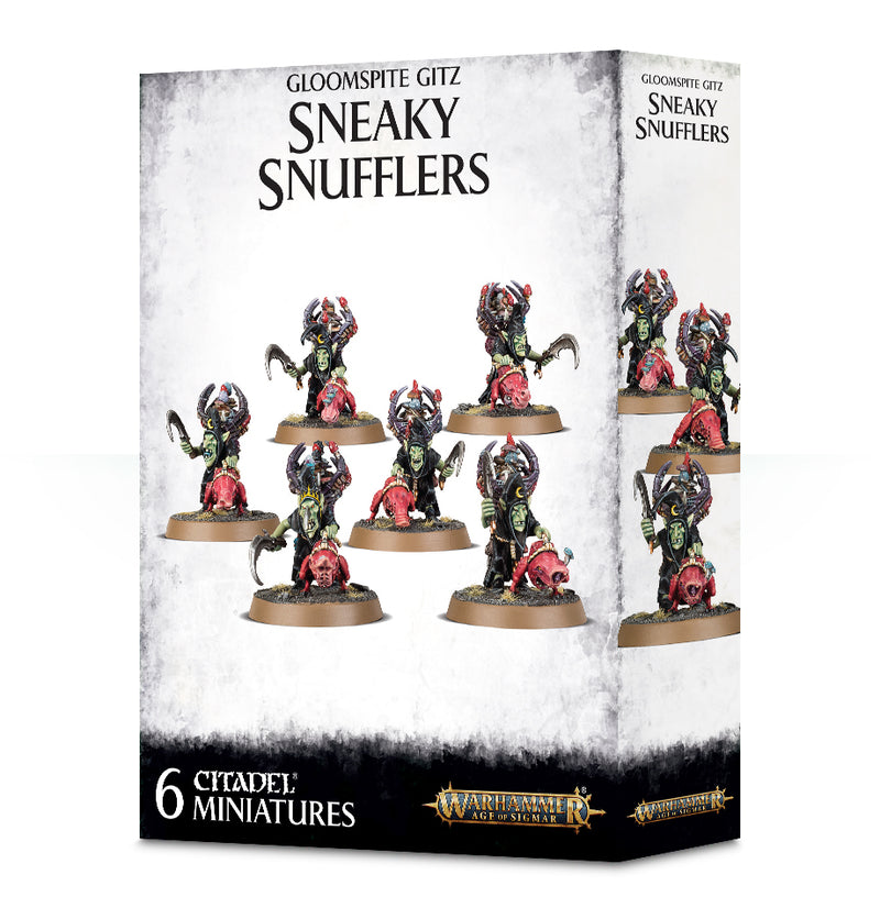 games workshop gloomspite gitz sneaky snufflers