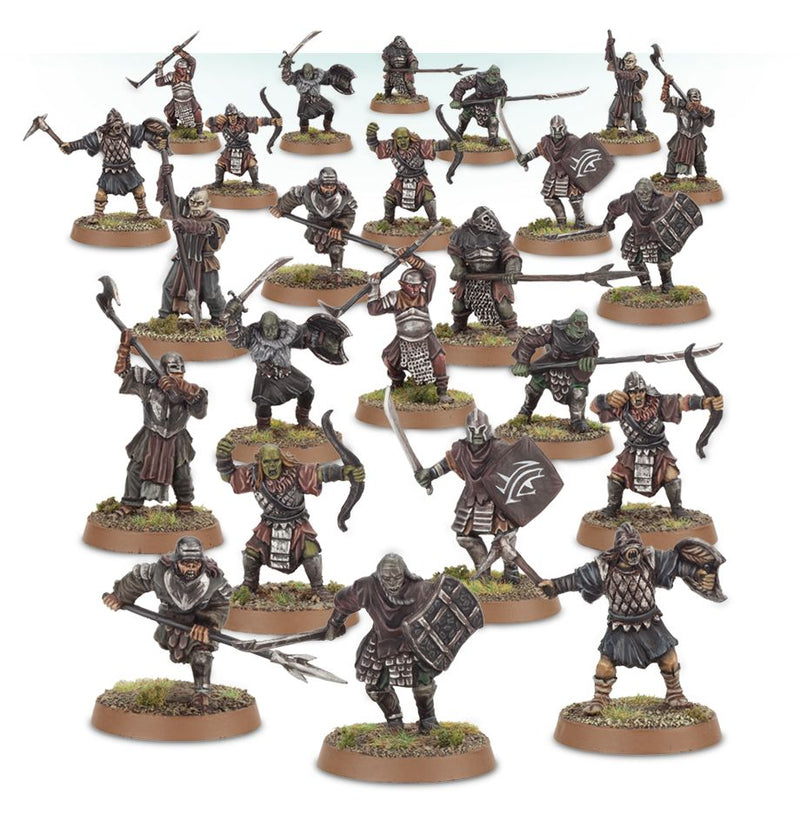 games workshop lotr mordor orcs