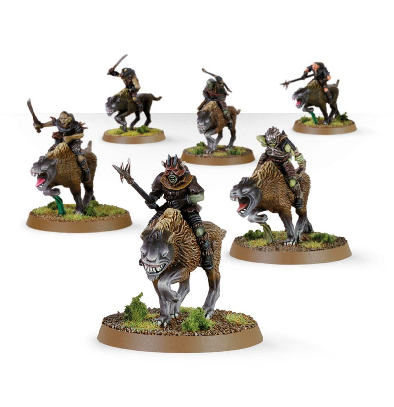 games workshop the lord of the rings warg riders