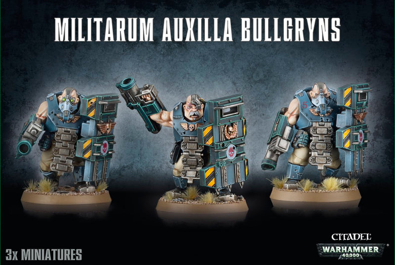games workshop militarum auxilla bullgryns