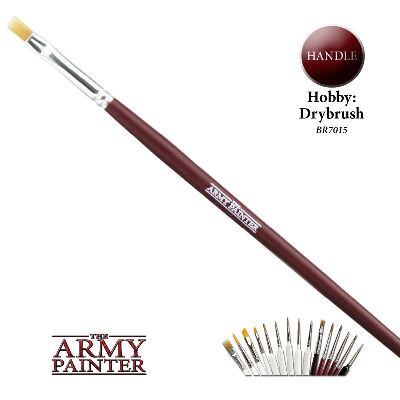 army painter hobby drybrush paint brush