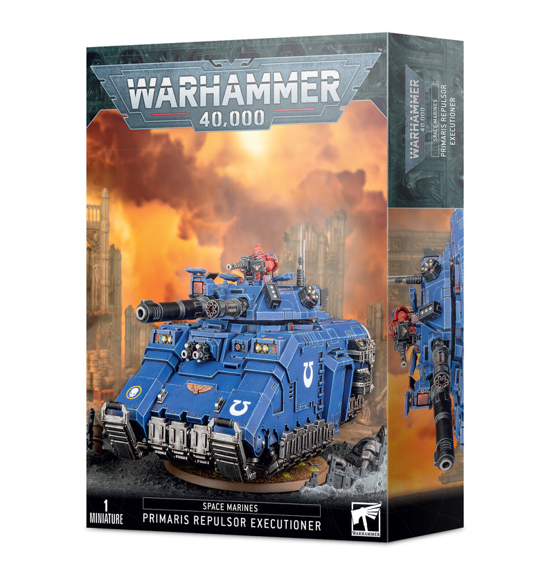 games workshop space marines primaris repulsor executioner
