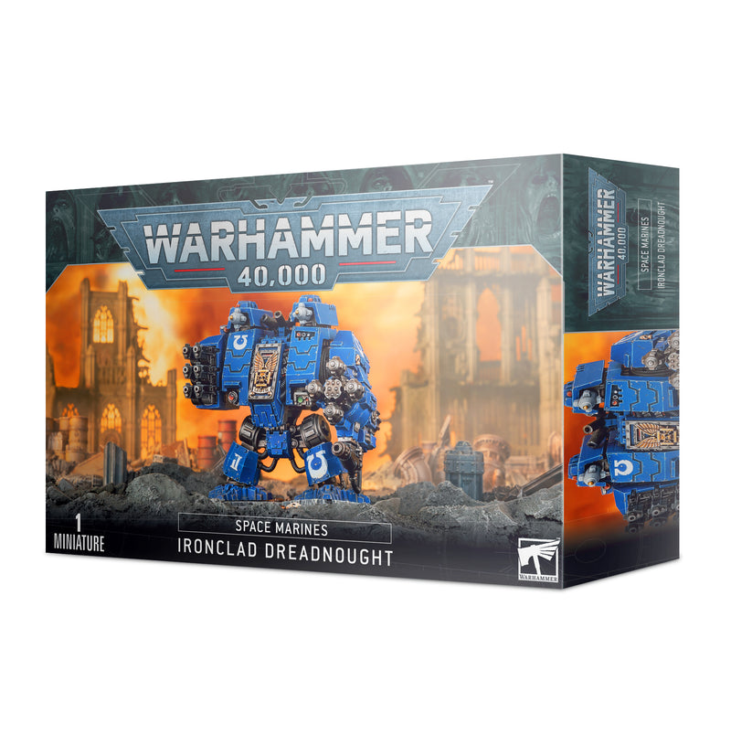 games workshop space marine ironclad dreadnought