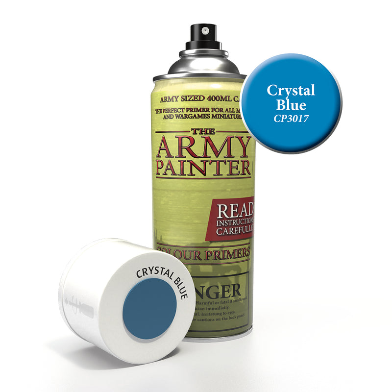 army painter colour primer crystal blue aerosol spray paint