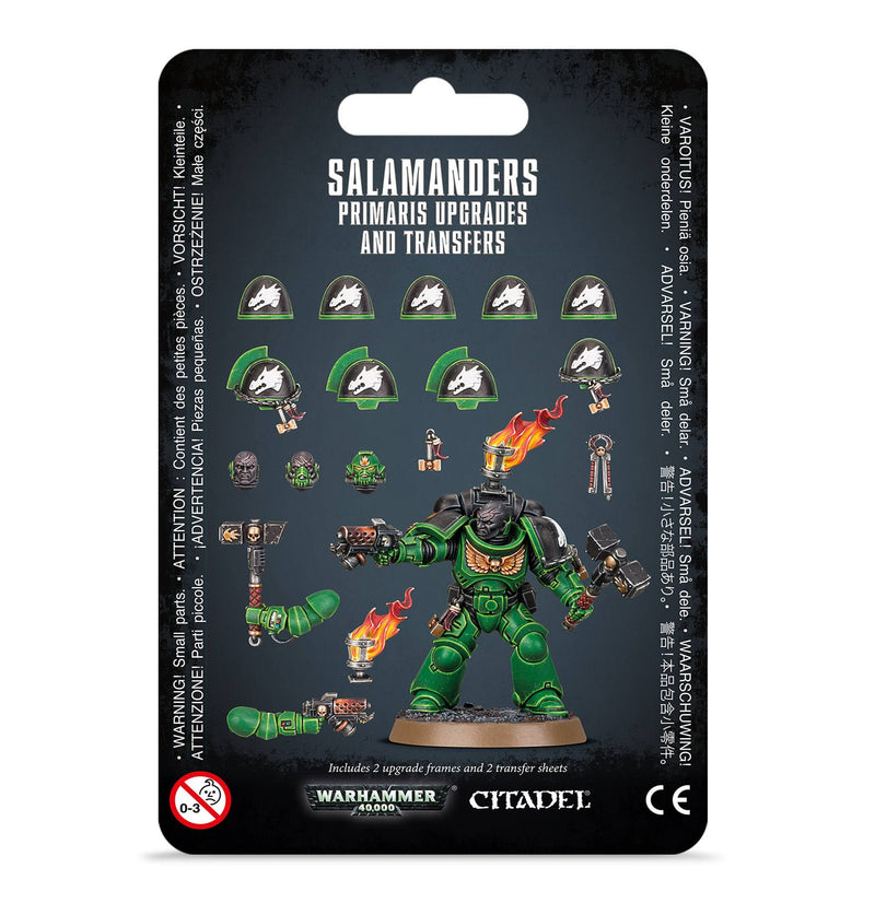games workshop salamanders primaris upgrades  transfrs