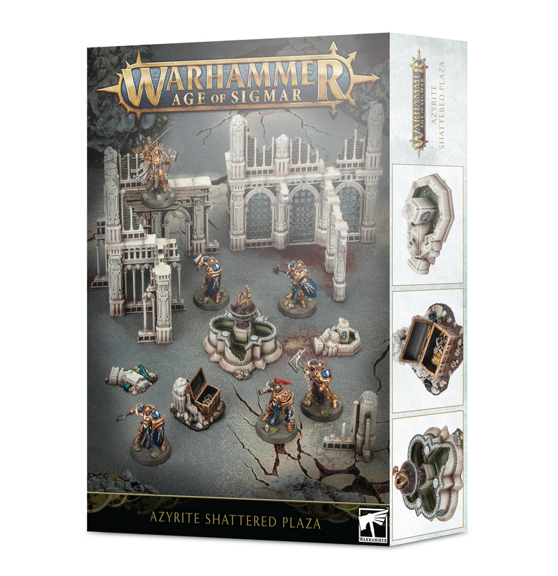 games workshop age of sigmar azyrite shattered plaza