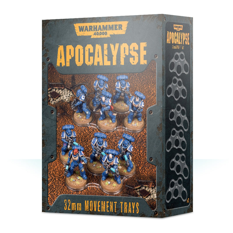 games workshop wh40k apocalypse movement trays