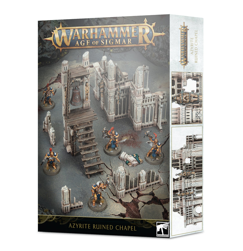 games workshop age of sigmar azyrite ruined chapel