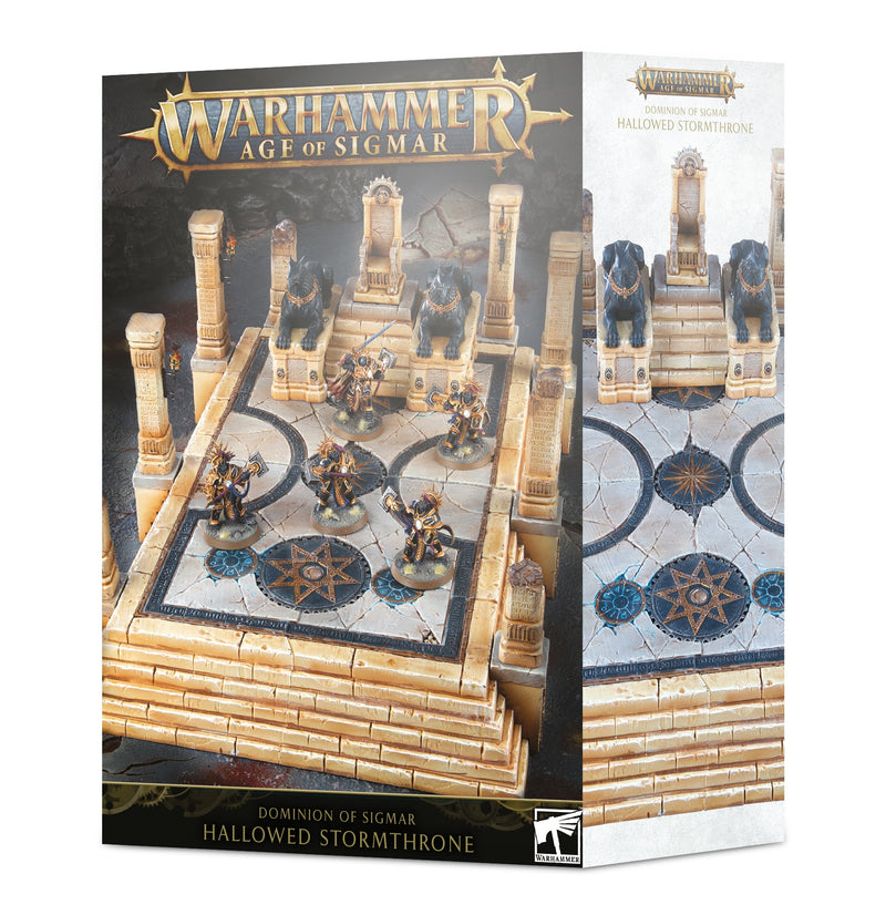 games workshop dominion of sigmar hallowed stormthrone