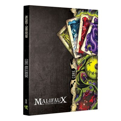 Wyrd malifaux core rulebook  3rd edtion