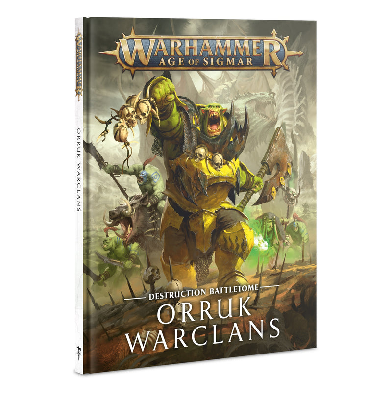 games workshop battletome orruk warclans