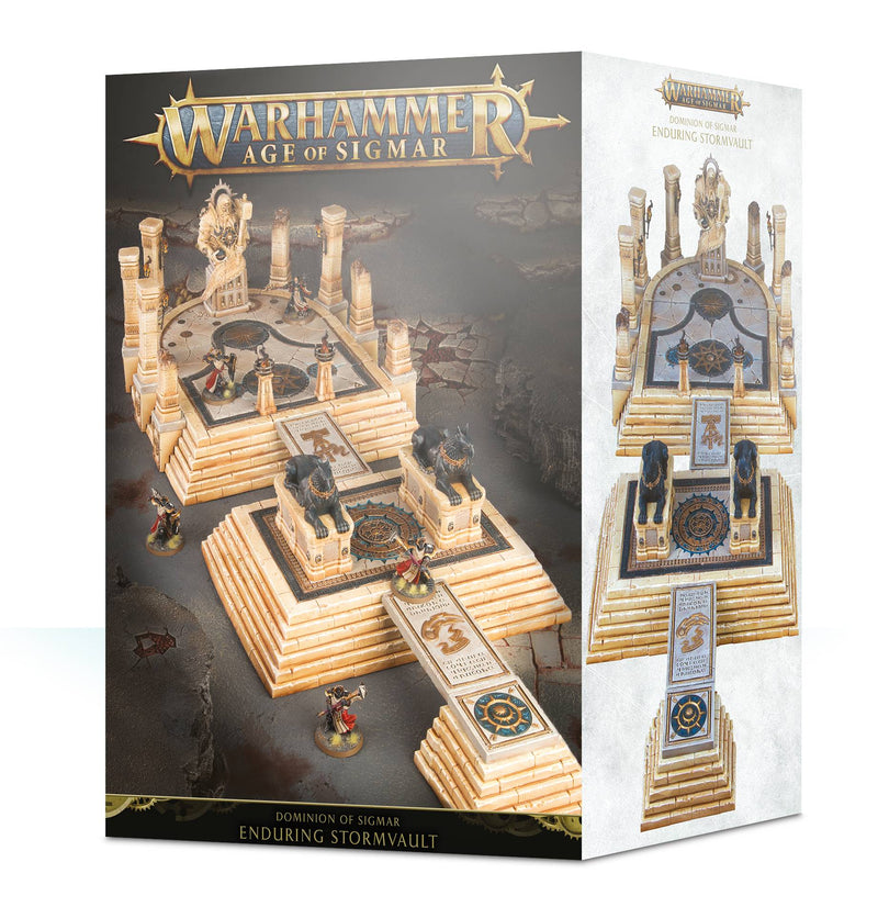 games workshop dominion sigmar the enduring stormvault