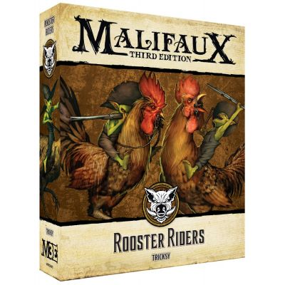 Wyrd rooster riders