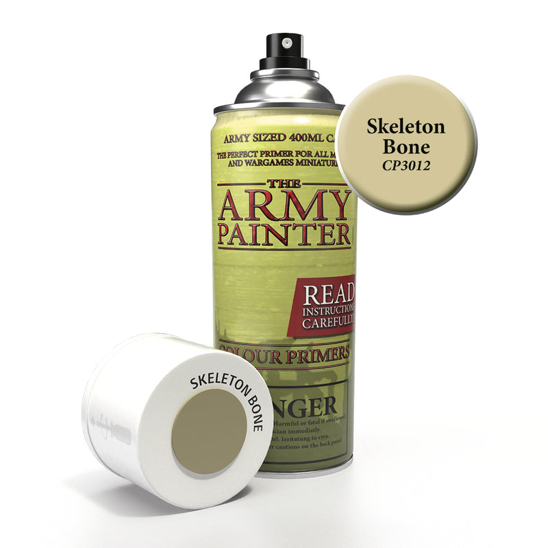 army painter colour primer skeleton bone aerosol spray paint