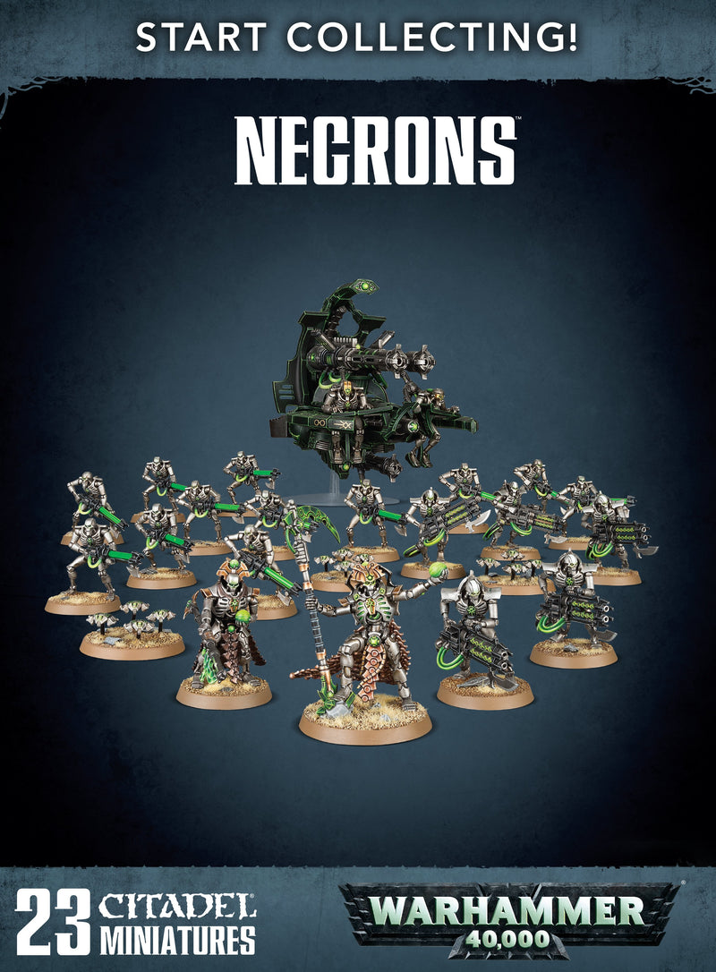 games workshop start collecting necrons