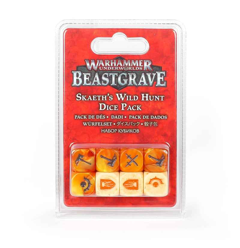 games workshop wh underworlds skaeths wild hunt dice