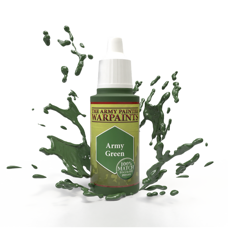 army painter army green acrylic paint