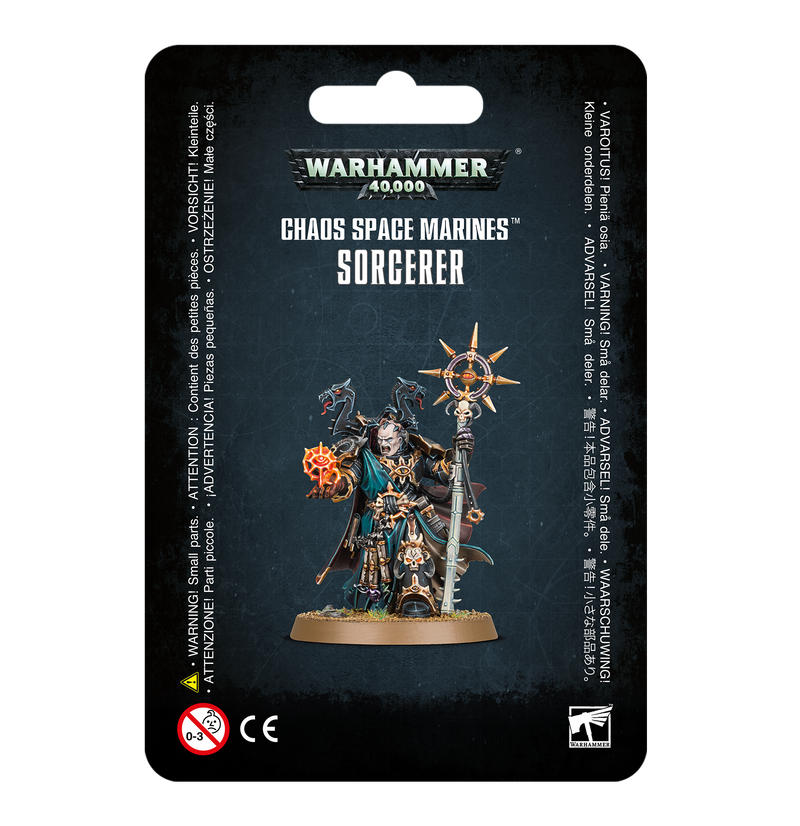 games workshop chaos space marines sorcerer
