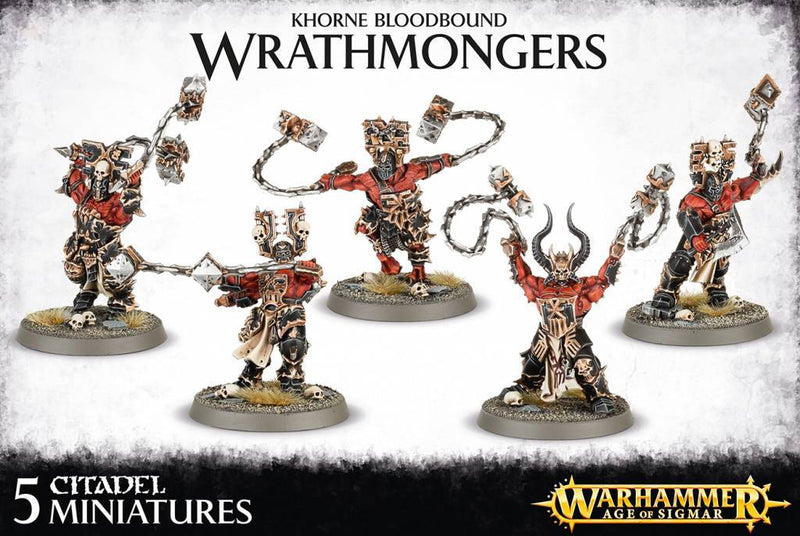 games workshop khorne bloodbound wrathmongers