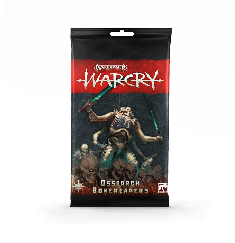 games workshop warcry ossiarch bonereapers card pack