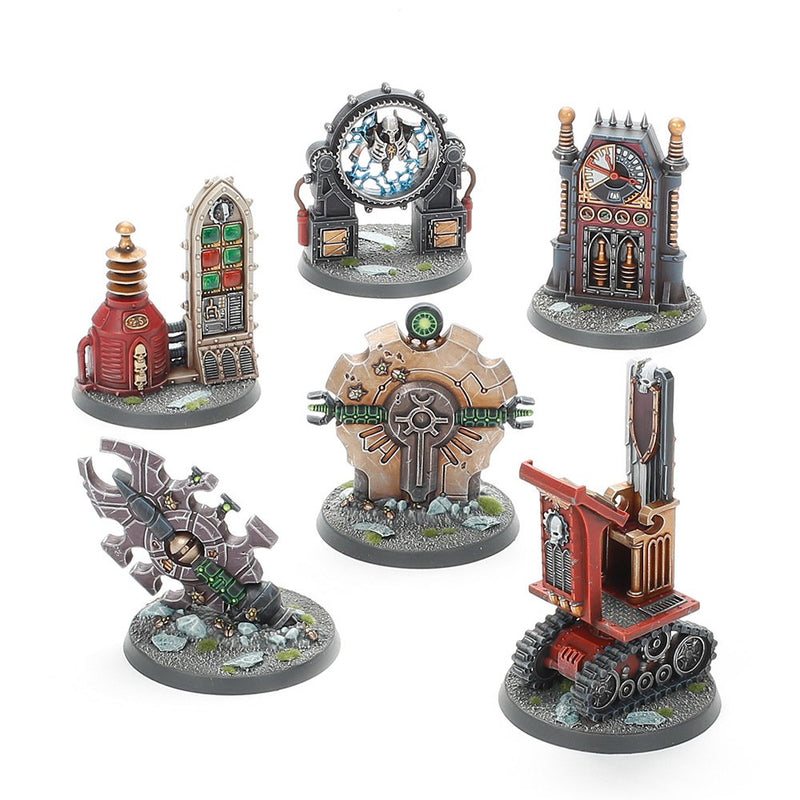 games workshop battlezone manufactorum objective set