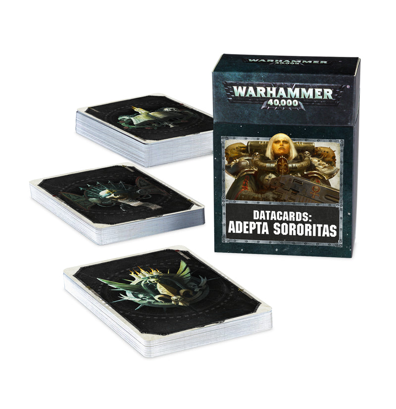 games workshop datacards adepta sororitas