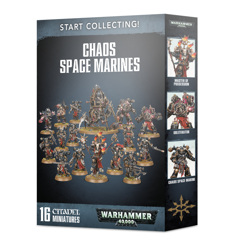 games workshop start collecting chaos space marines