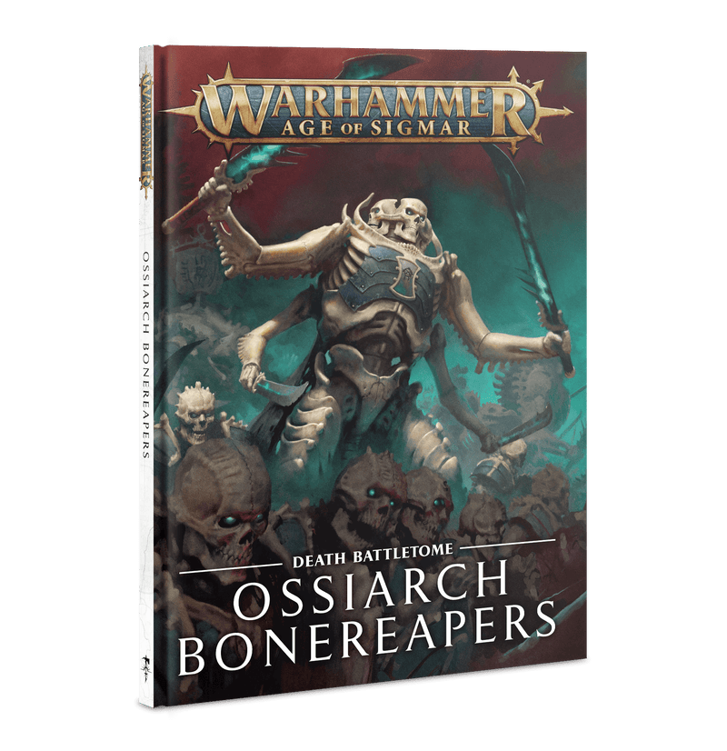 games workshop btome ossiarch bonereapers  eng