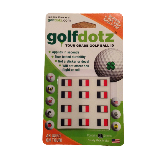 Golfdotz Ball Markers  [La France]