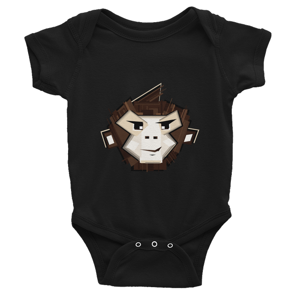 Stylized Infant short sleeve onesie