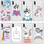 Coque iPhone licorne Multi design - Licorne Store ™