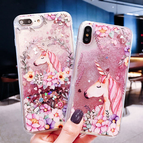 Coque Iphone Licorne en silicone crystal - Licorne Store ™