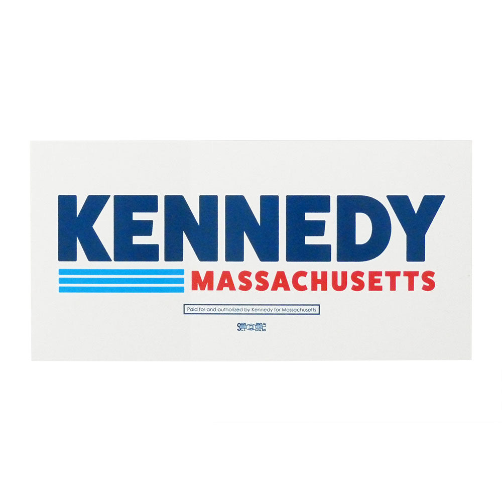 Kennedy for Massachusetts Bumper Stickers (Pack of 2)