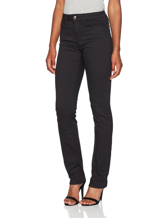 Mavi Kendra Jeans Skinny, Nero (Black Lurex Fancy 21422), 29 W/32 L Donna