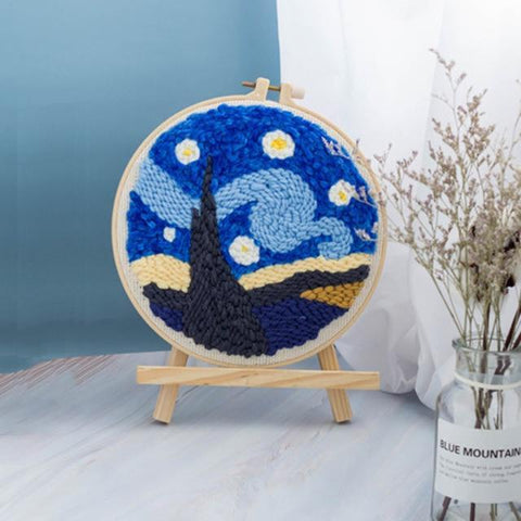 Image of Crafty™ - Van Gogh Borduurset
